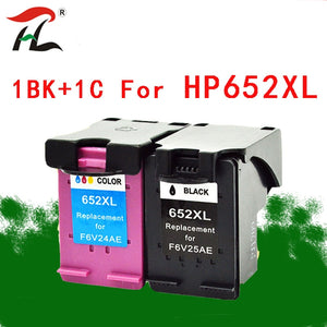 YLC 652XL Compatible ink cartridges For HP 652XL hp652 652 For HP Deskjet 1115 1118 2135 2136 2138 3635 3636 4536 4535 printers