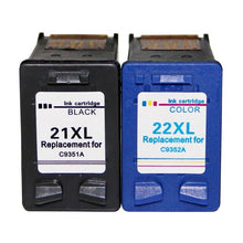 Load image into Gallery viewer, 21 22 XL Ink Cartridge Replacement for HP 21 22 HP21 HP22 21XL 22XL Deskjet F2180 F2280 F4180 F380 380 Printer