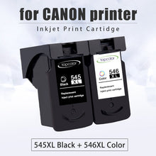 Load image into Gallery viewer, Topcolor Ink Cartridge PG545 CL546 for Canon PG 545 CL 546 Black Color for Printer Pixma MX495 TR4550 Ip2850 MG2450 MG2550S 3053