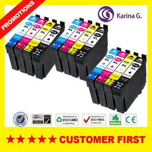 Compatible For T03D T03C ink cartridge Suit For Epson WorkForce WF-2861