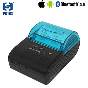 Cheap 58mm mini bluetooth portable pos receipt printer IOS support USB and RS232 interface for mobile bill printing