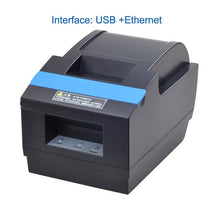 Load image into Gallery viewer, High quality 58mm Bluetooth  auto cutter  thermal receipt printer  with Ethernet and USB or Bluetooth and USB interface