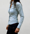 chemise up to you bleu ciel femme alexandra ledermann sportswear alsportswear