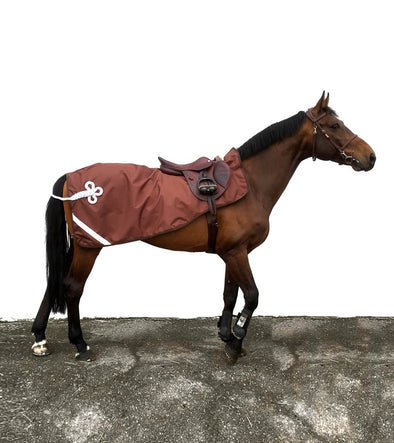 couvre rein chocolat silver impermeable polaire cheval alexandra ledermann sportswear alsportswear