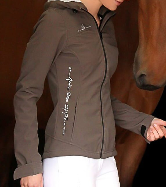 veste softshell inception tabac equitation alexandra ledermann sportswear alsportswear