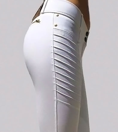 pantalon déquitation technique genial blanc alexandra ledermann sportswear