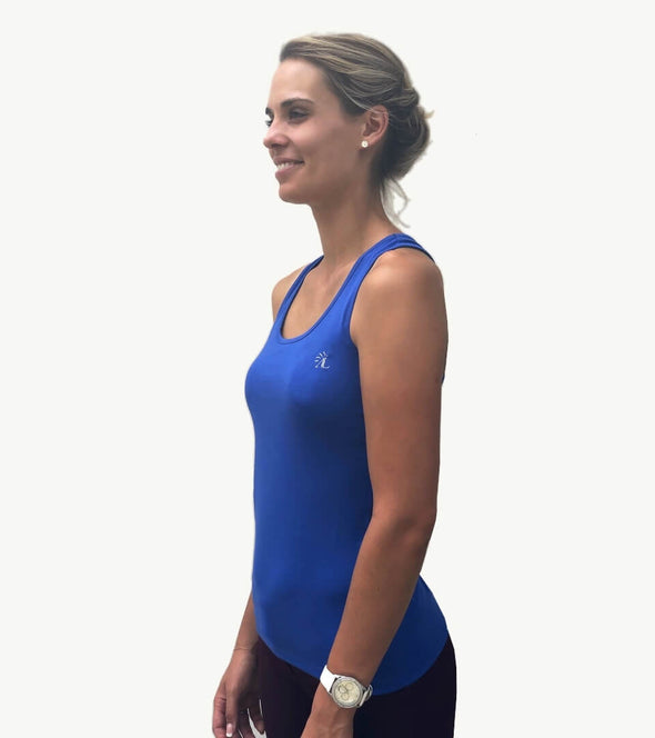 top basic sans faute 1 point de temps bleu roi equitation alexandra ledermann sportswear alsportswear