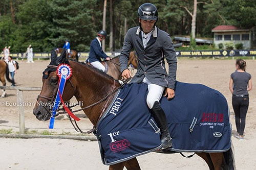 Mathieu Laveau photo Equestrian News Franck Zaganelli