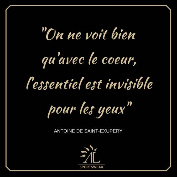 Citation St Exupéry blog St Valentin Alexandra Ledermann Sportswear