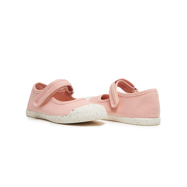 Zapatos deportivos Mary Jane Captoe de lona Childrenchic® para niña en palisandro