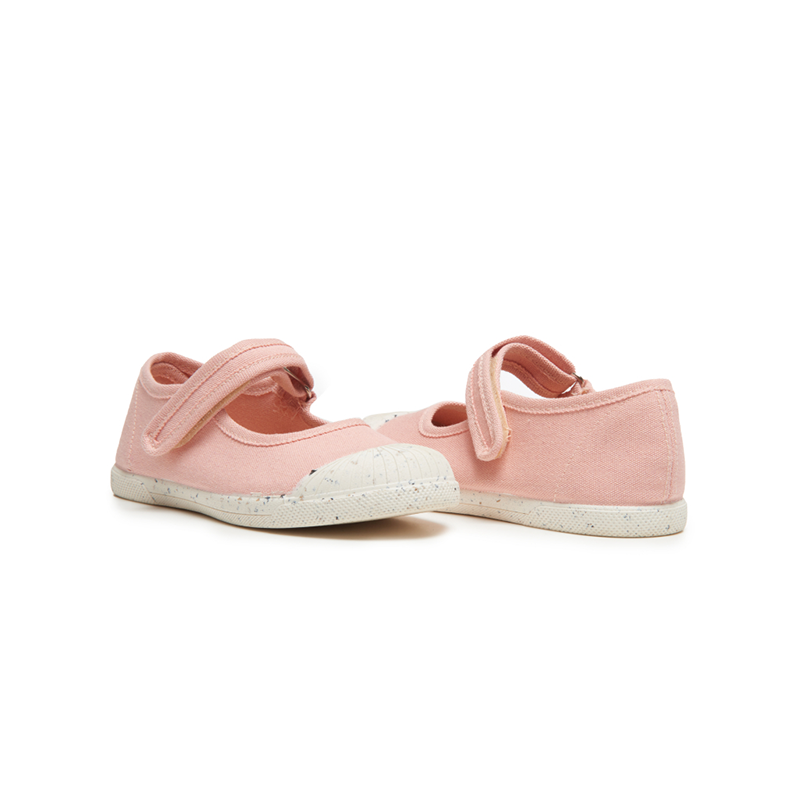 Girls' Childrenchic® ECO-friendly Mary Jane Sneakers in Peach