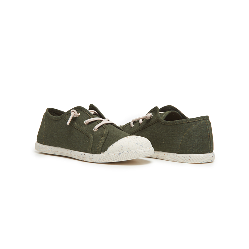 Zapatilla infantil Childrenchic® ECO-Friendly en verde