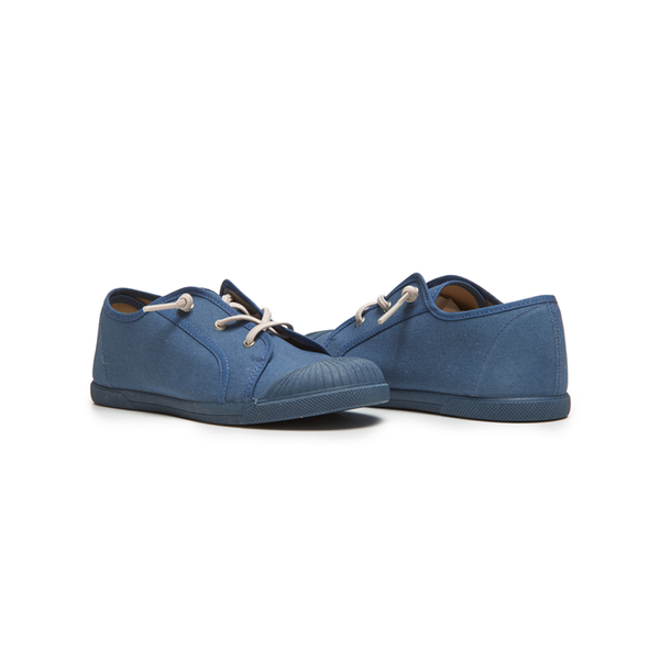 Kids's Childrenchic®Elastic Laces Sneaker in Indigo
