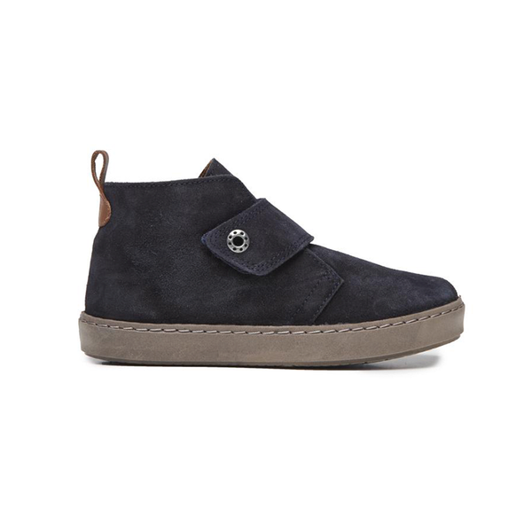 Kid's Childrenchic® Navy Suede Sneaker Booties