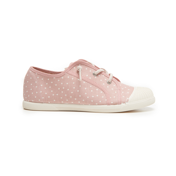 Kids's Childrenchic® Eco-Friendly Sneaker in Pink Dots