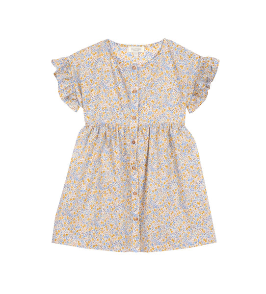 Girl's Olivier x Childrenchic® Jardinier Marygold Dress