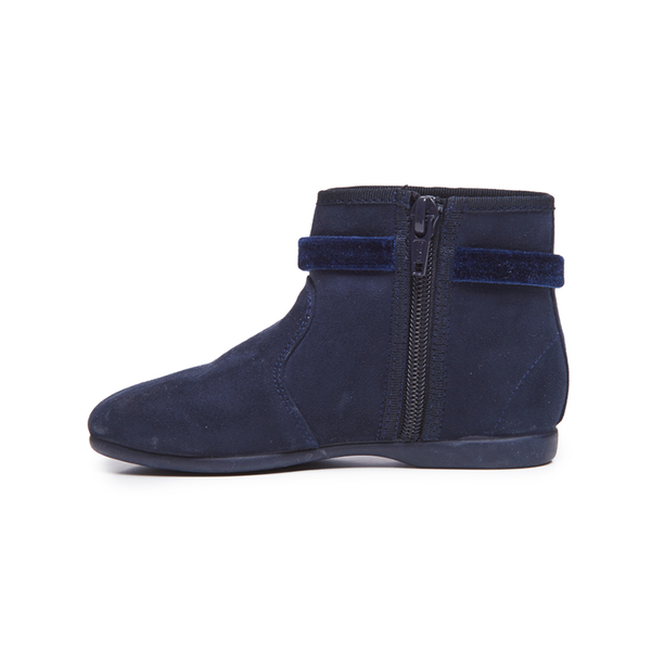 Girls' Childrenchic® Navy Suede Party Boot