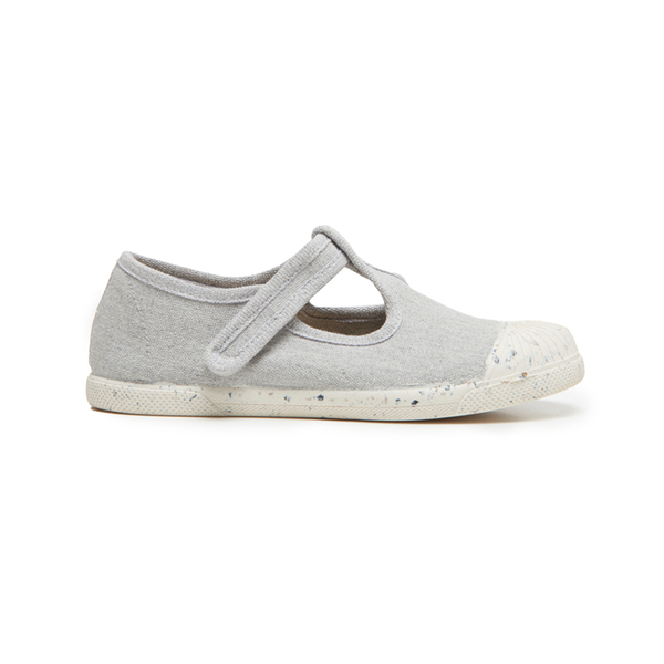 Kids' Childrenchic® ECO-friendly T-band Sneakers in Grey