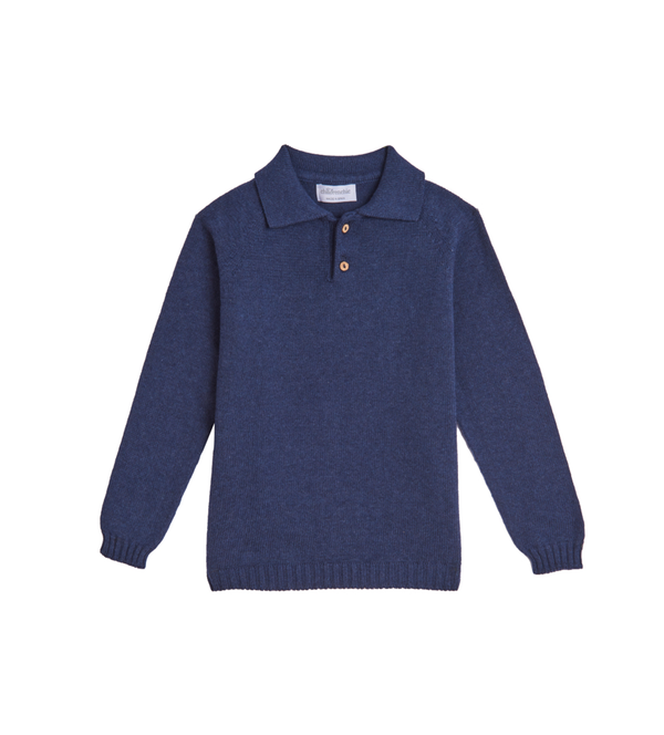 Boy's Year-round Indigo Sweater