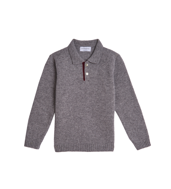 Boy's Year-round Grey Sweater
