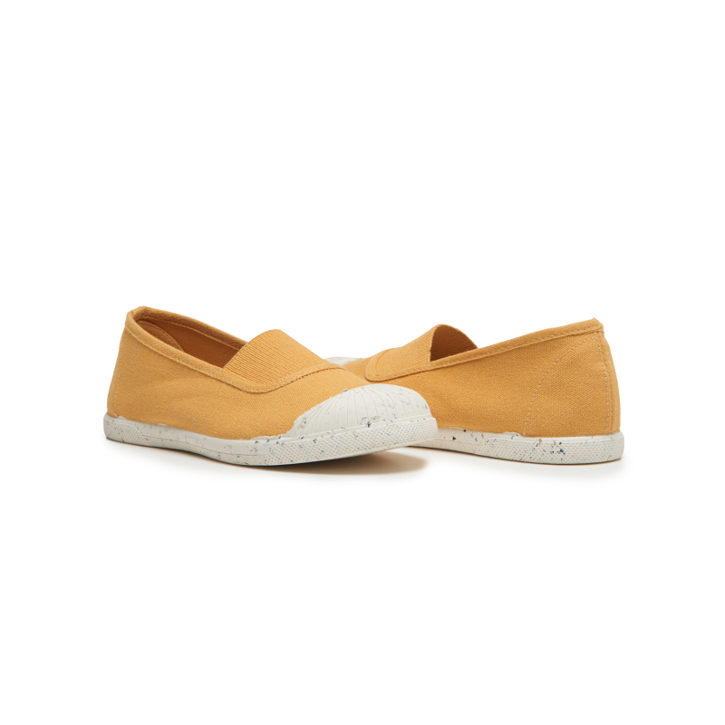 Girl's Childrenchic® Eco-Friendly Elastic Slip-on in Marigold
