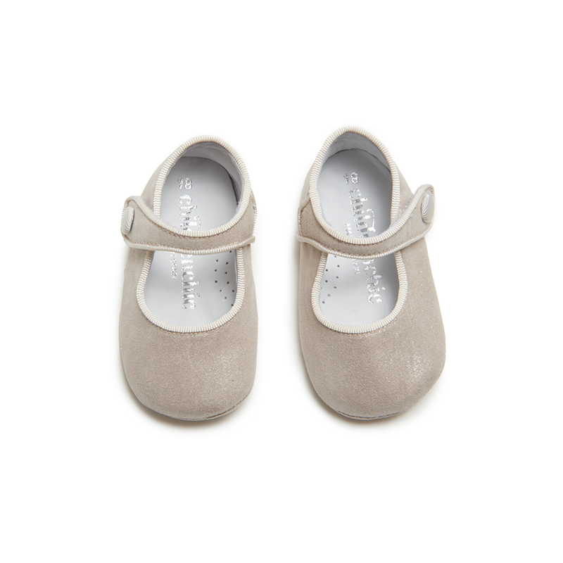 Childrenchic® My-First  Mary Janes in Shimmer Gold
