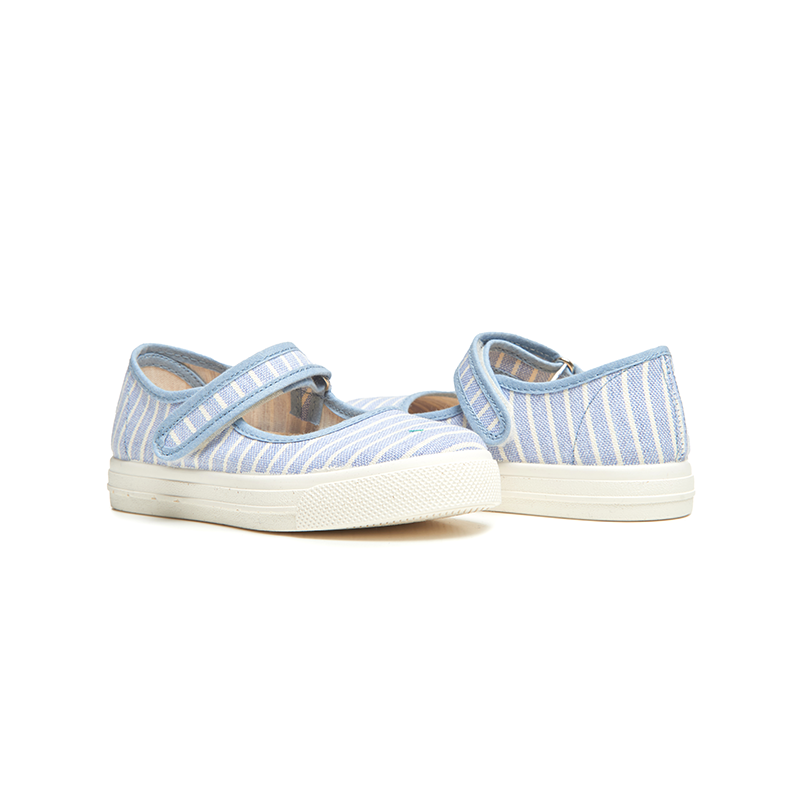 Girls' Childrenchic® Striped  Mary Jane Sneakers