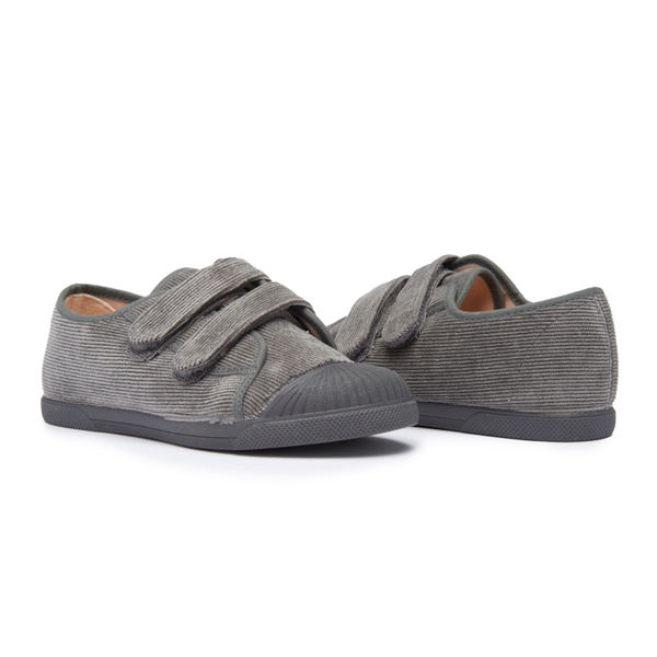 Kids' Childrenchic® Grey Cord Fall Sneakers