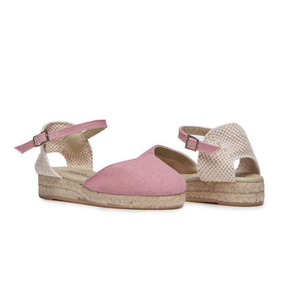 Girls' Childrenchic® Rosewood Canvas Espadrille