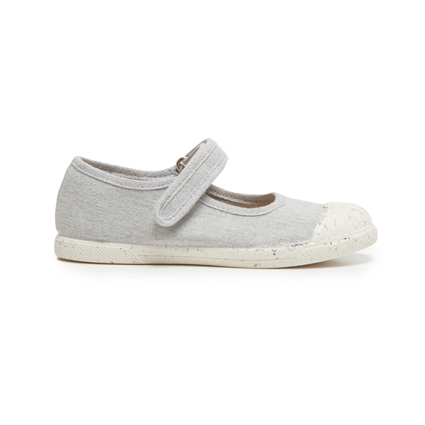 Girls' Childrenchic® ECO-friendly Mary Jane Sneakers in Grey