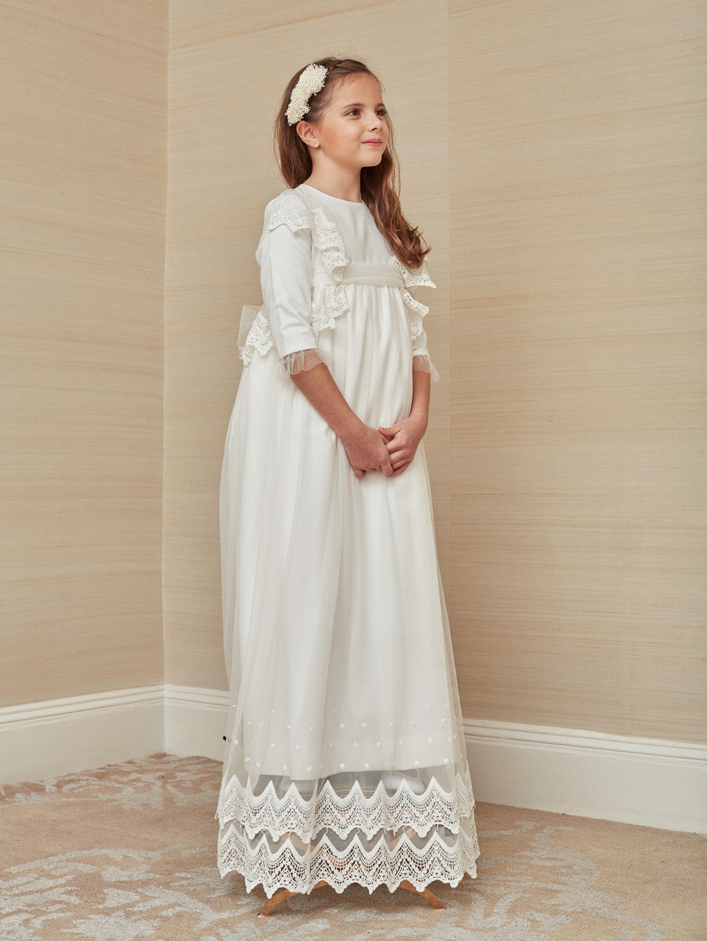 Vintage Inspired First Communion Dress