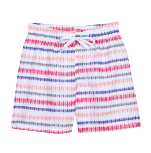 Boy's Indie Sunset Stripes Swimsuit