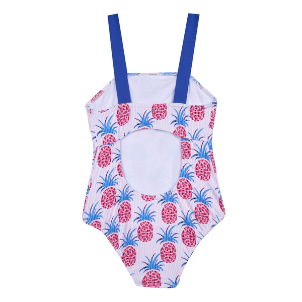 Girl's Pineapple Loop Swimsuit