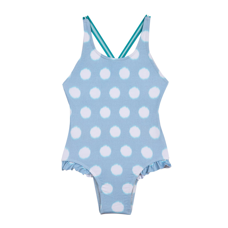 Girls Childrenchic® Aqua Dots Swimsuit