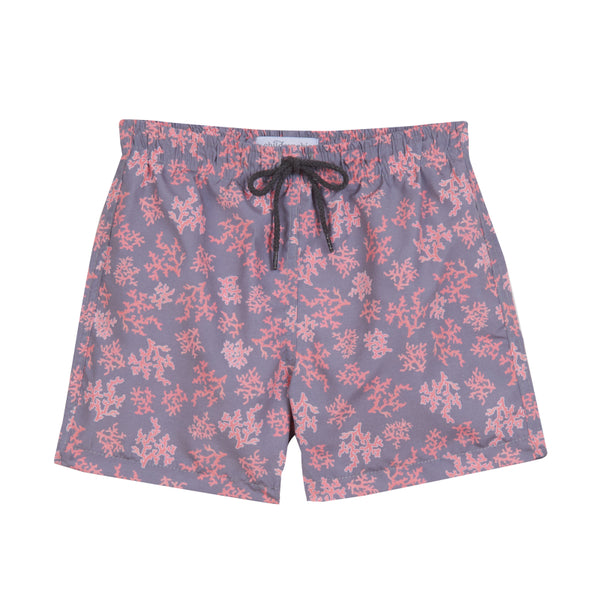 Boy's Childrenchic® Corals Swimsuit