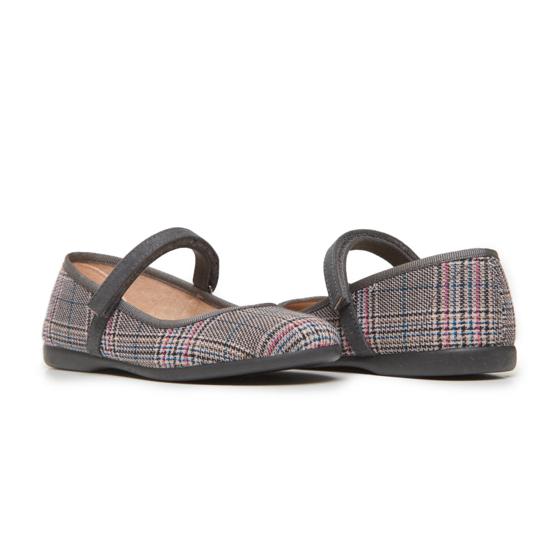 Girls' Childrenchic® Classic Plaid Mary Janes