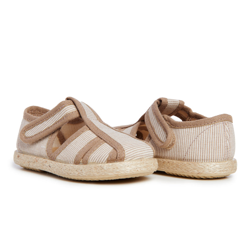 Kid's Childrenchic® Canvas Sandal in Stripes