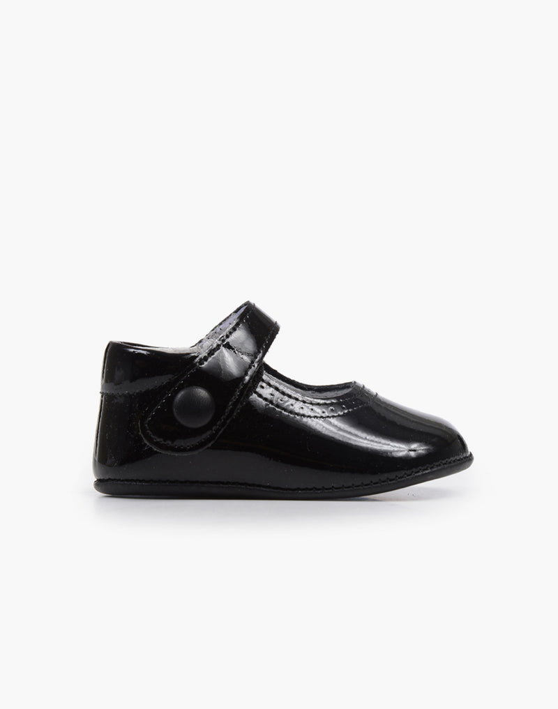 Childrenchic® My-First Black Patent Leather Mary Janes