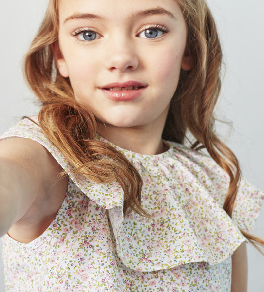 Girls's Childrenchic® Rose Blouse