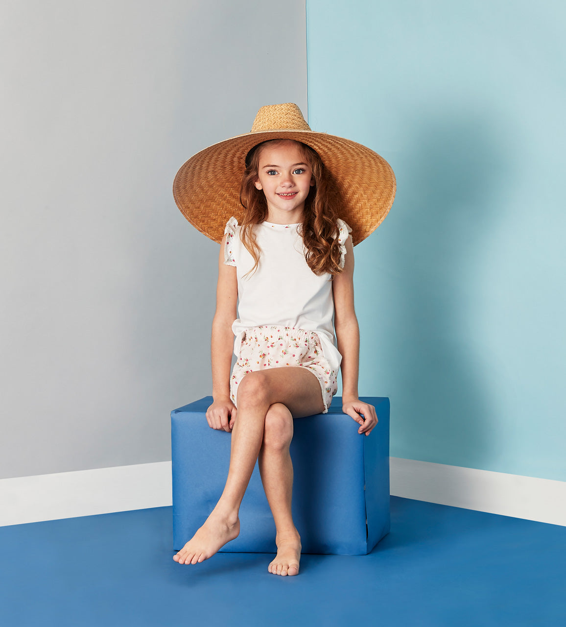 Girls Childrenchic® Apres-Swim Liberty Set