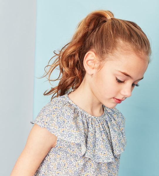 Girls's Childrenchic® Liberty Blue Blouse