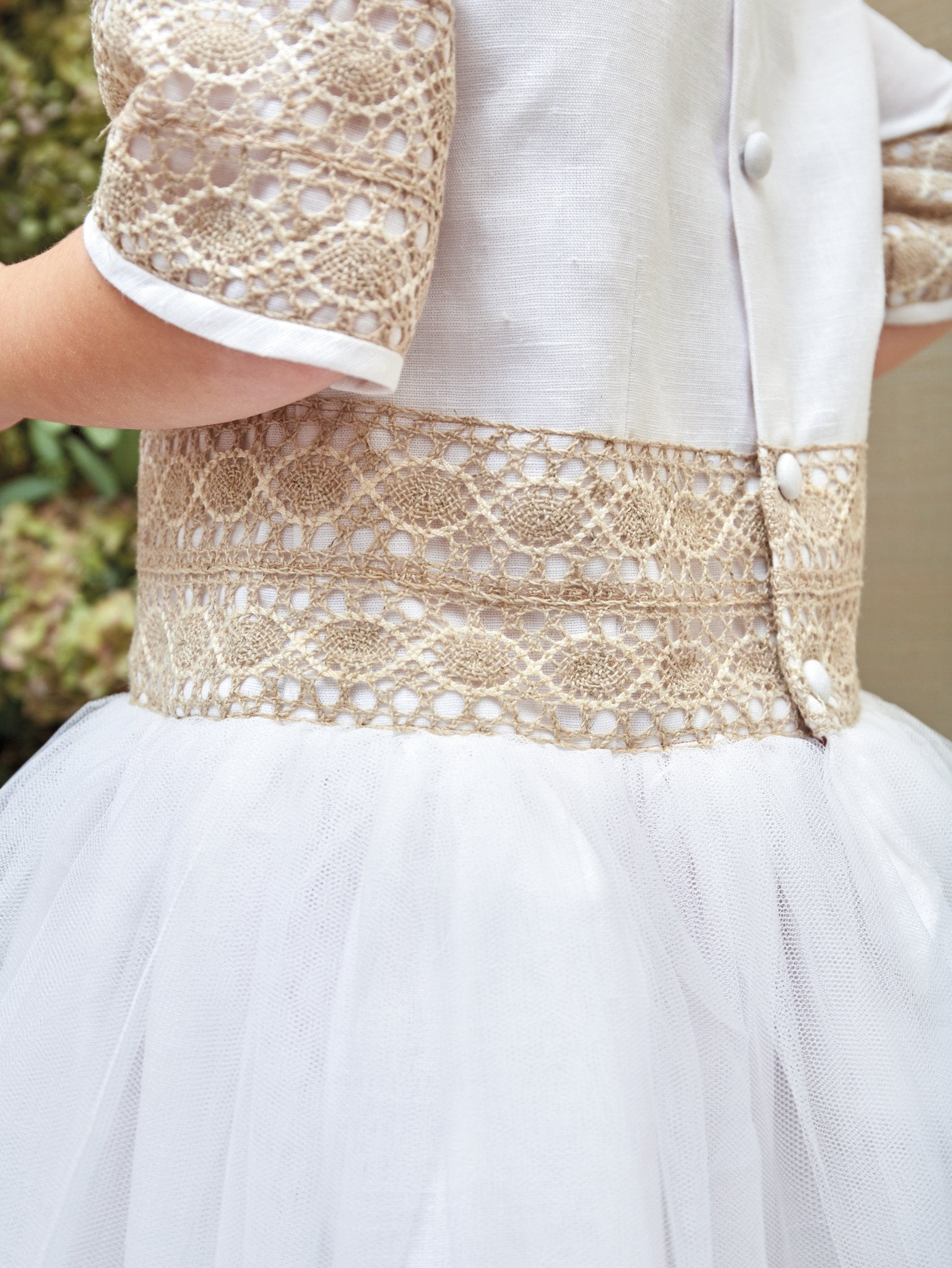 Chic Princess and Beige Lace Special Occasion Dress