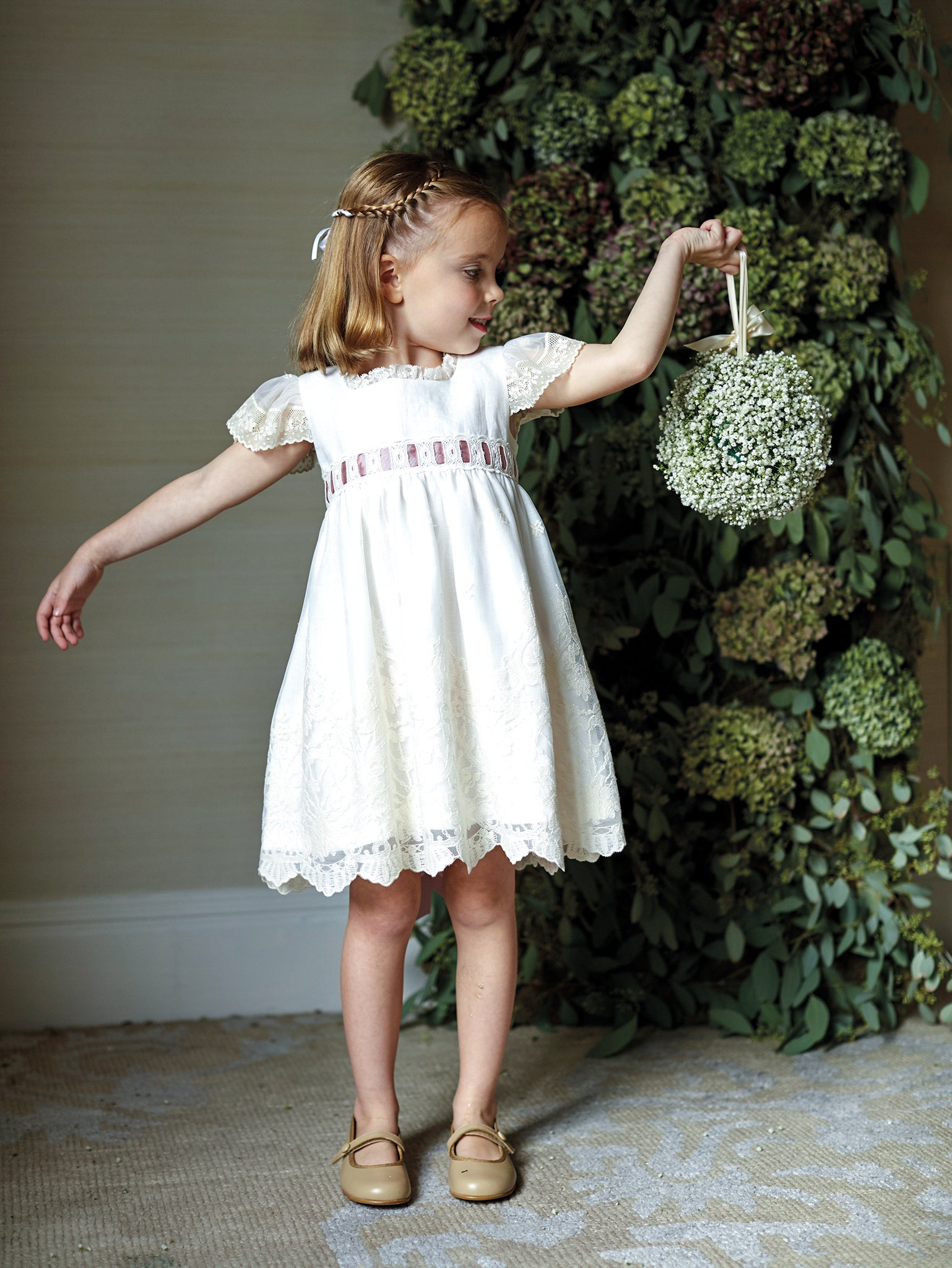 Ivory Lace Dreams Special Occasion Dress