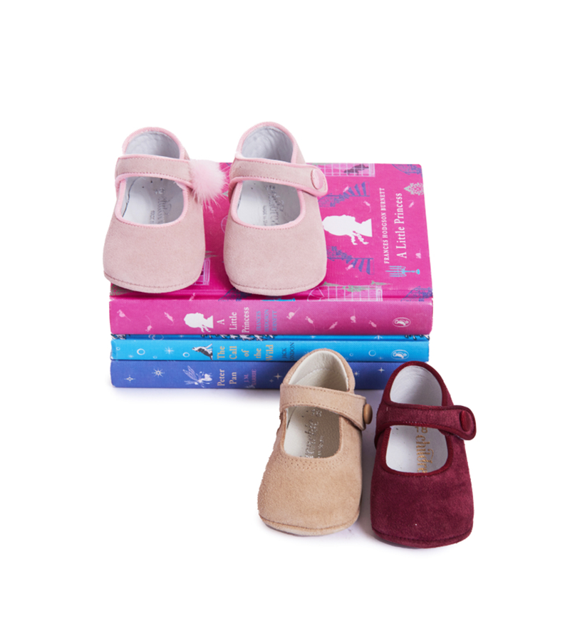 Mary Janes de Childrenchic® My-First Camel Suede