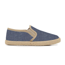 Kids' Childrenchic® Linen Slip-on Sneakers in Denim