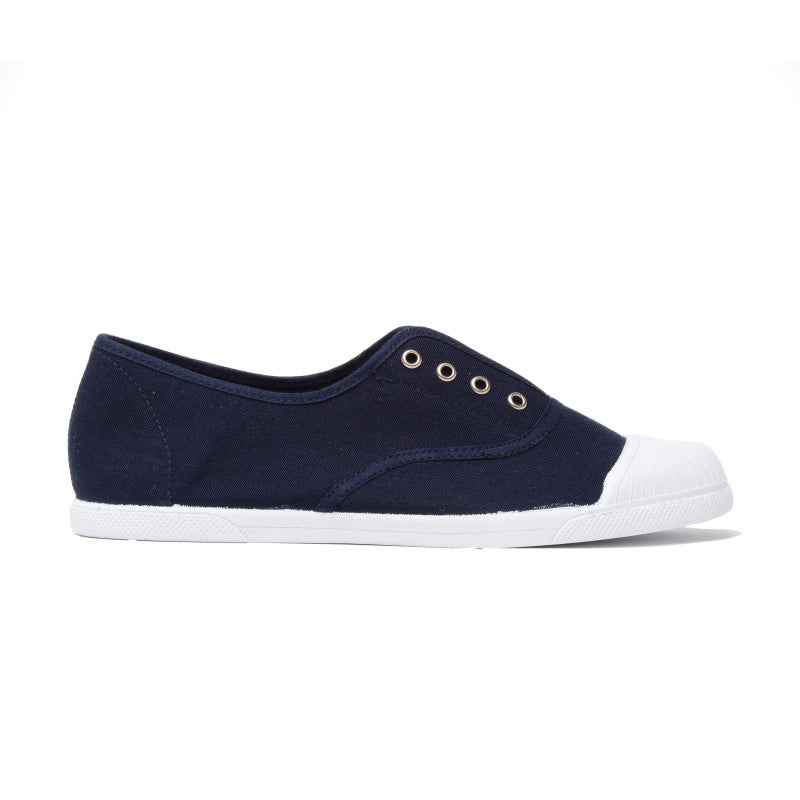 Kids' Childrenchic® captoe slip-on sneakers in navy