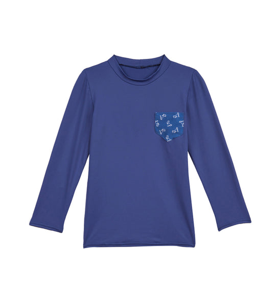 Kids' Childrenchic® Blue Rashguard