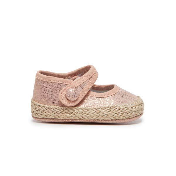My-First Espadrilles in Rose Shimmer