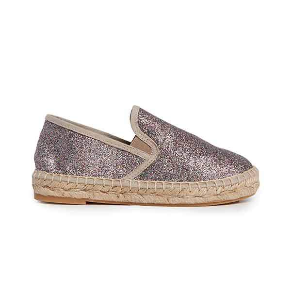 Girls' Childrenchic® Multicolor Glitter Espadrille