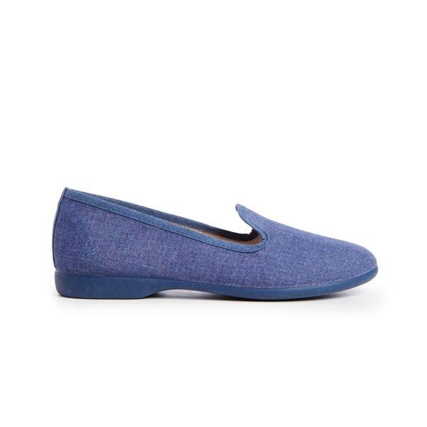 Girls' Childrenchic® Denim Canvas Loafers